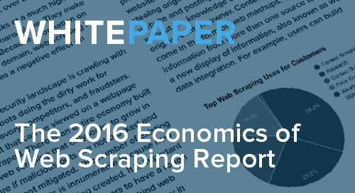 Economics of Web Scraping Report