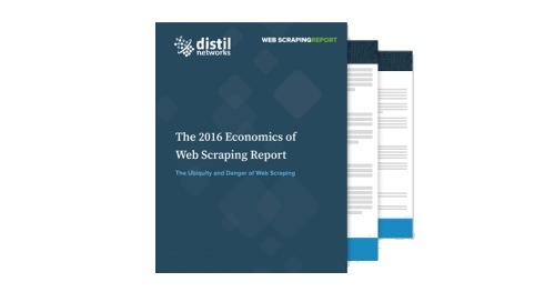 New Findings Announced in Distil's 2016 Economics of Web Scraping Report