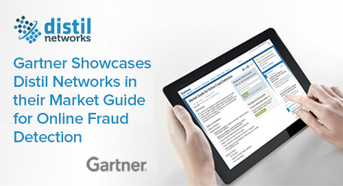 Gartner Market Guide for Online Fraud Detection