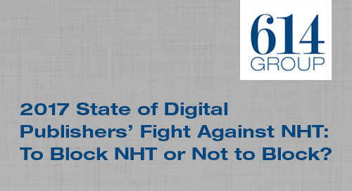 State of Digital Publishers' Fight Against Non-Human Traffic: To Block NHT or Not??