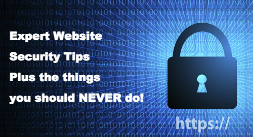 16 World Renowned IT Security Experts Provide Website Security Tips and What To Avoid