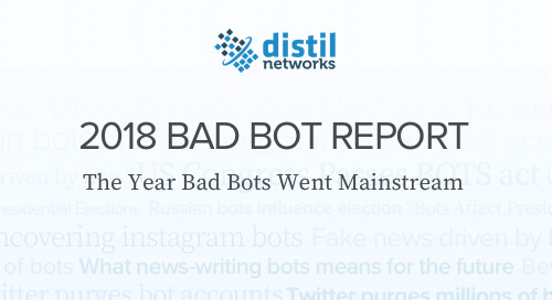 2018 Bad Bot Report