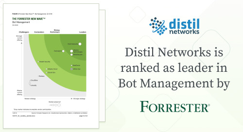 Distil Named a Leader in Bot Management in the 2018 Forrester New Wave