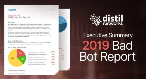 2019 Bot Report Executive Summary