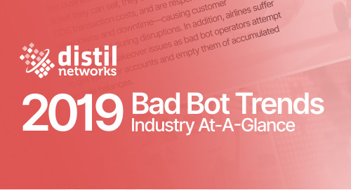 [Infographic] 2019 Bad Bot Trends by Industry At-A-Glance