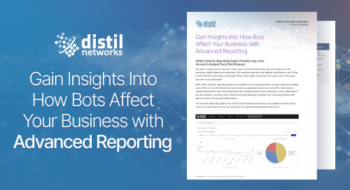 Distil Dynamic Reporting Engine Product Datasheet