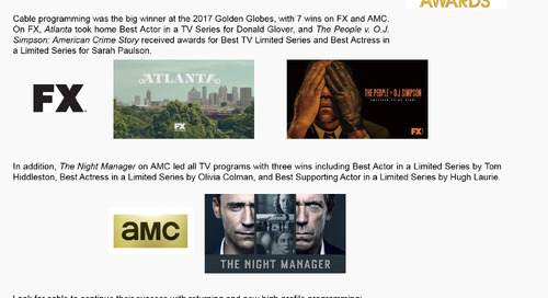SMART BUY: Golden Globe Success for Cable