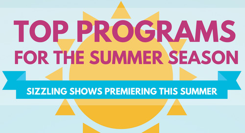 Summer Programming Sizzles on Cable [Infographic]