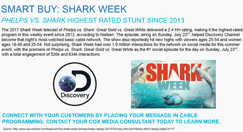 SMART BUY: Shark Week on Discovery