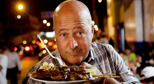 Travel Channel: Bizarre Foods with Andrew Zimmern [Returning Series]