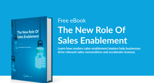 eBook: The New Role Of Sales Enablement