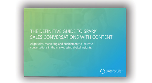 The Definitive Guide To Spark Sales Conversations with Content [eBook]