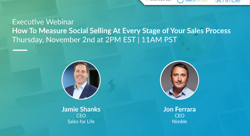 Webinar: How To Measure Social Selling At Every Stage Of Your Sales Process