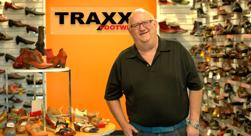 Merchant Scoop: Taking All the Right Steps ft. Traxx Footwear