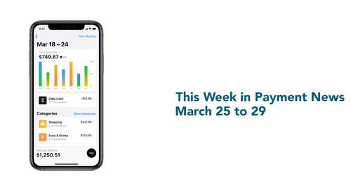 This Week in Payment News – March 25 to 29