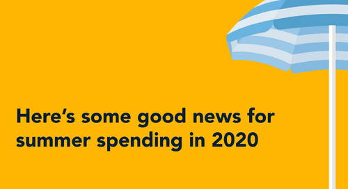 Here's some good news for summer spending in 2020