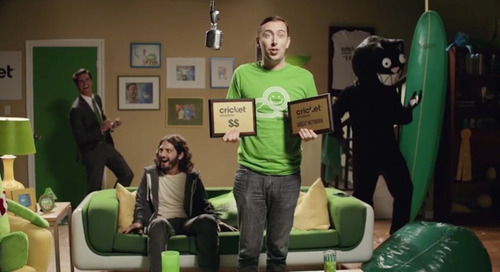 The Cricket Wireless Cartoon Takeover: What it Means for Traditional TV Commercials