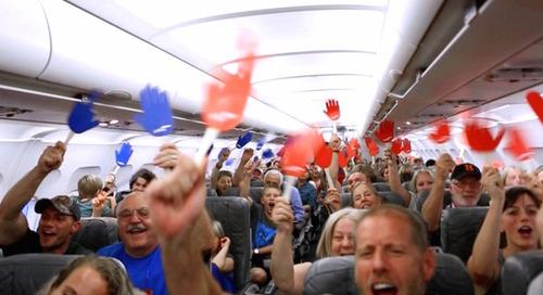 3 ingénieuses techniques de marketing intégrées à une vidéo virale de JetBlue