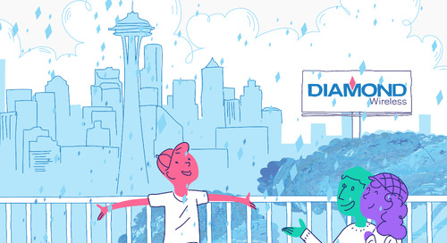 It's Raining Happiness in Seattle Thanks to Diamond Wireless