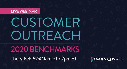 Live Webinar: Customer Outreach Benchmarks For 2020