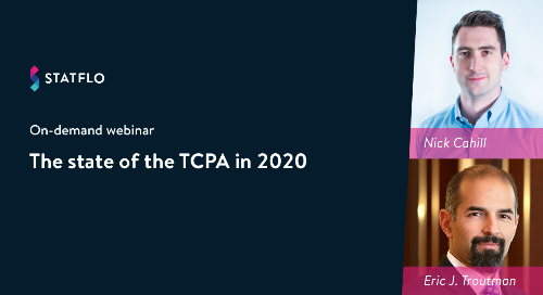 [On-Demand Webinar] The State of the TCPA in 2020