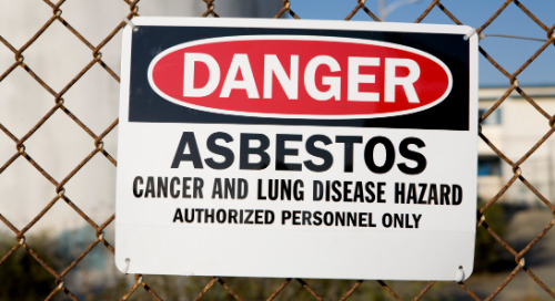 Asbestos in the Air: How to Avoid Exposure on the Job
