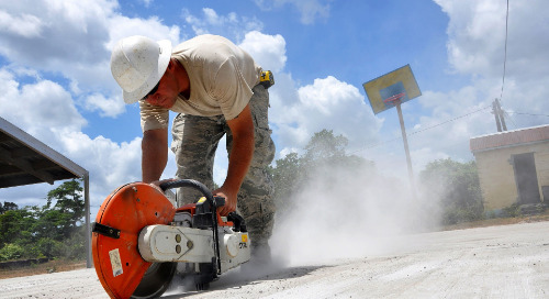 Crystalline Silica Dust Control Practices