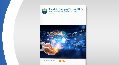 NAEM Report: Trends in Emerging Tech for EHS and Sustainability