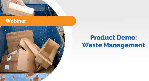 Product Demo: Waste Management