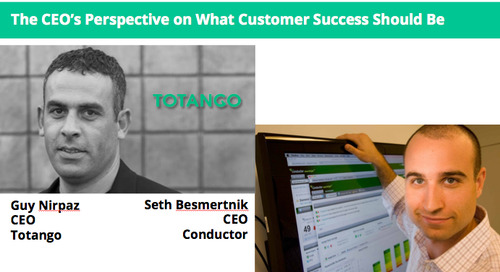 The CEO's Perspective on What Customer Success Should Be