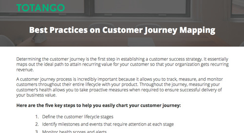 Best Practices on Customer Journey Mapping