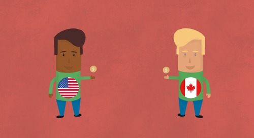 Paying Employees in Canada and the US — What You Need to Know [Mini Guide & Infographic]