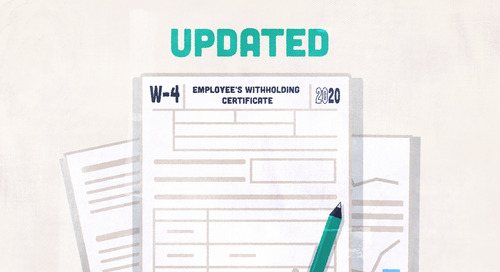 How the New 2020 IRS W-4 Form Affects Small Business Employers and Employees
