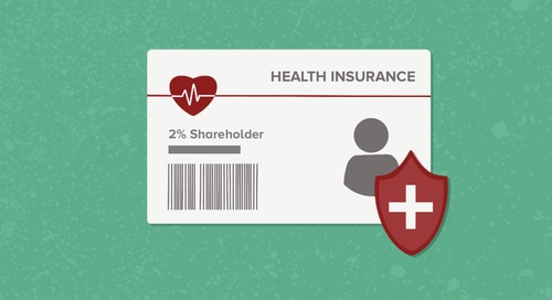 Understanding The 2% Shareholder Health Insurance