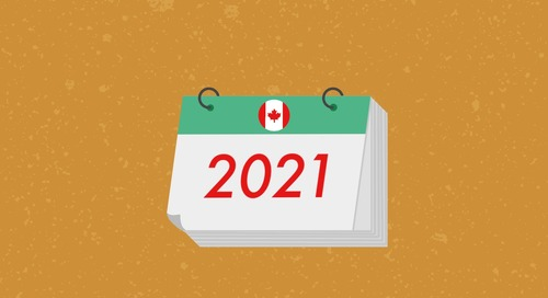 2021 Canadian Small Business Payroll Calendar