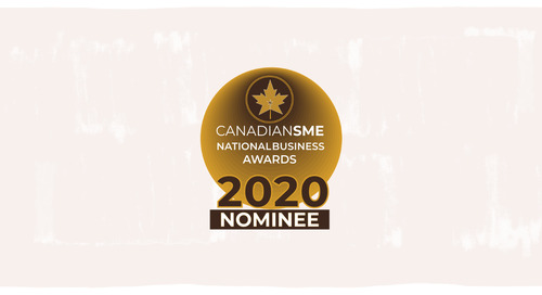Wagepoint Nominated For Multiple 2020 CanadianSME National Business Awards