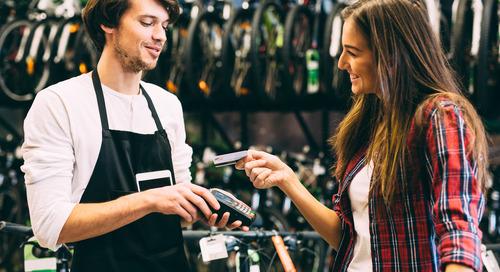 Le cycle de vie d'un paiement unique par carte de débit ou crédit