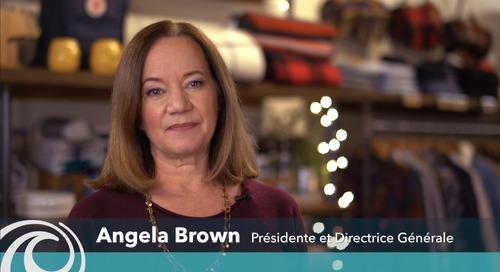 Le guide de survie aux Fêtes pour les commerçants présenté par Angela Brown, présidente et chef de la direction de Moneris