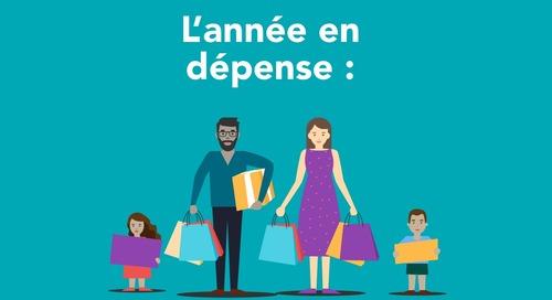 L'année en dépense : l'histoire des achats au Canada jusqu'au 1er novembre [Infographie]