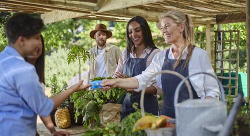 Solutions de paiement mobiles conviviales pour les commerces éphémères et leurs clients