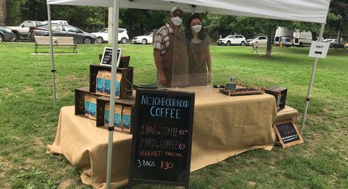 Comment l'entreprise Neighbourhood Coffee a démarré un commerce électronique durant une pandémie