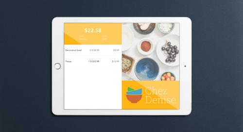 Gérez votre entreprise n'importe où avec un iPad et l'ensemble pour commerce de détail de Moneris