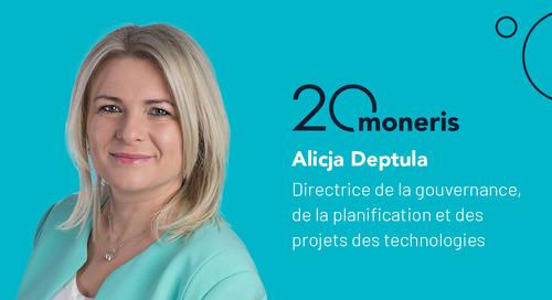 Pleins feux sur l'employé : Questions et réponses avec Alicja Deptula