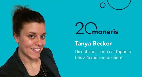 Pleins feux sur l'employé : Une séance de questions avec Tanya Becker