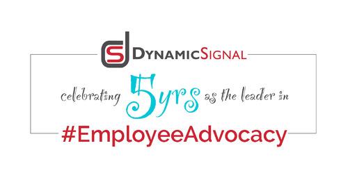 Happy 5th Birthday to Dynamic Signal