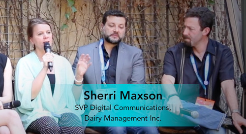 Integration with the Enterprise [Sherri Maxson, Dairy Management Inc.]