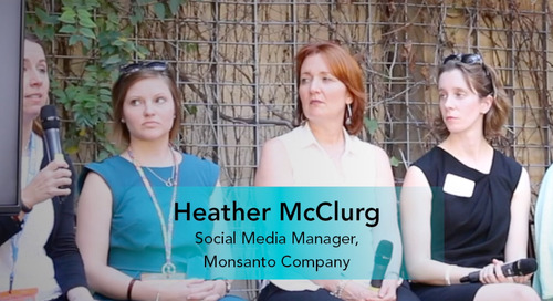 The Importance of Employee Advocacy to Social Strategy [Heather McClurg, Monsanto Company]