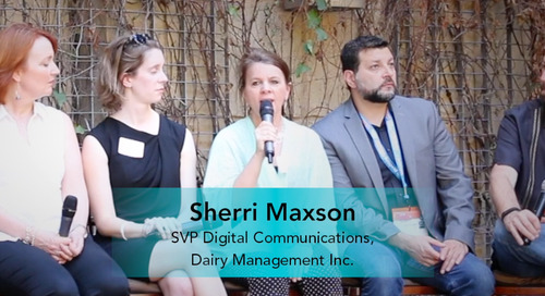 From Cut and Paste to Scalable Advocacy [Sherri Maxson, Dairy Management Inc.]
