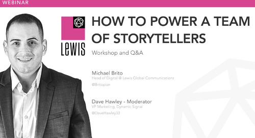 How To Power A Team Of Storytellers, with Michael Brito