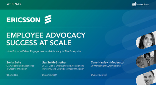 Ericsson: Employee Advocacy Success at Scale
